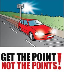 Penalty points to reduce road accidents