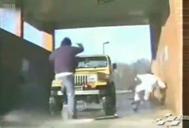 How Not to Wash Your Jeep