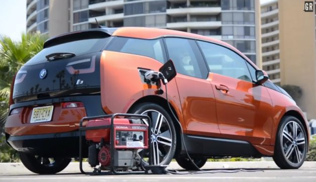 How to Charge Up Your BMW i3 With a Honda