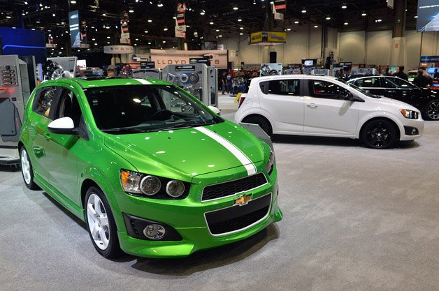 Chevrolet Gives us a Sonic for Show and One for Go