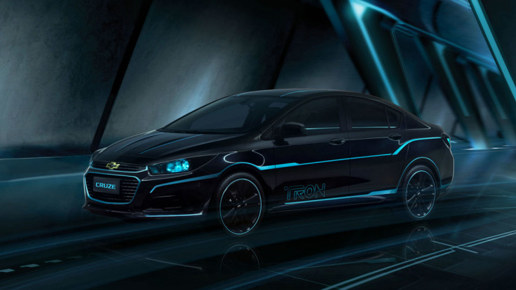Chevy Cruze Gets The Tron Treatment In Beijing