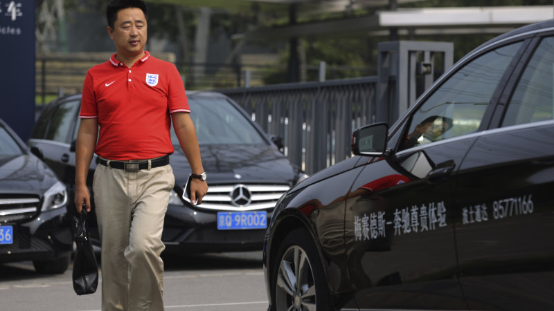 China Car Sales Drop as Stock Market Plunges