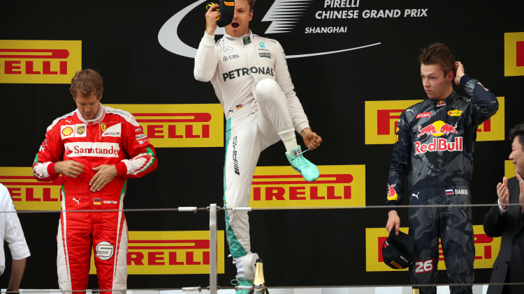 2016 Formula 1 Chinese Grand Prix Recap: Another Wild Show On And oOff Track