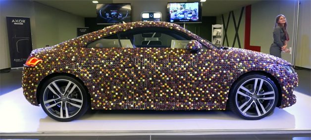 Chocolate-Covered Audi TT is More Treat Than Trick
