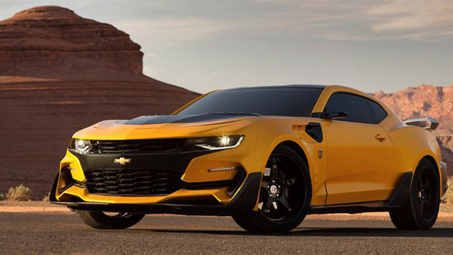 "The New ""Transformers"" Bumblebee Camaro Is Here And It Looks Sick"