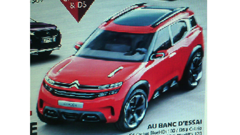 Citroen Aircross Concept Leaks Out Early