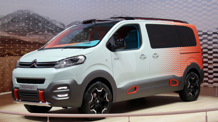 Citroen Space Tourer Hyphen Is A Touring Band's Dream