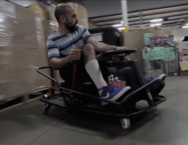 Razor Releases Adult-Friendly Crazy Cart XL, Autoblog Office Loses Mind