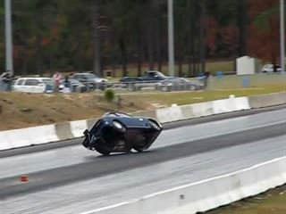 The Most Amazing Drag Racing Save You'll Ever See