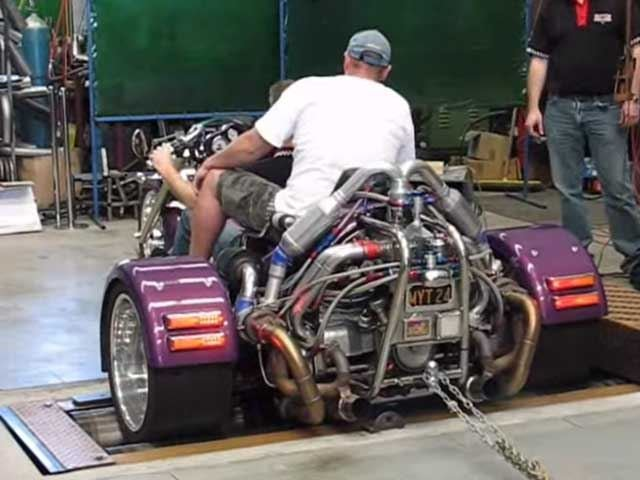 See the Dumbest People in the World Attempt to Dyno a Super Trike Without Killing Themselves