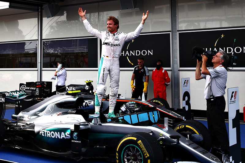 Race Recap: 2016 European GP Was A Cakewalk For Rosberg