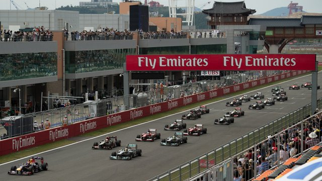 Korean GP Removed (Again) From F1 Calendar