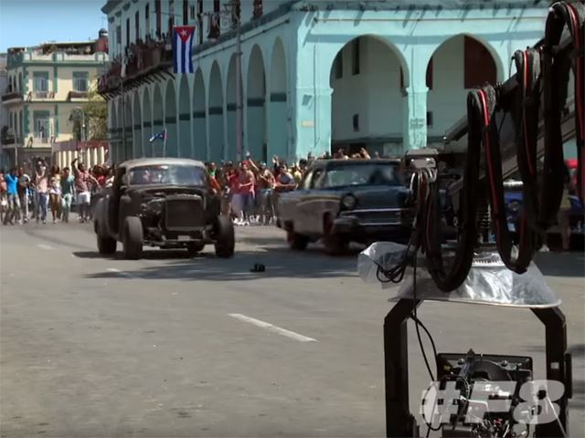 Furious 8 Is Filming In Cuba Right Now, Here's Our First Look
