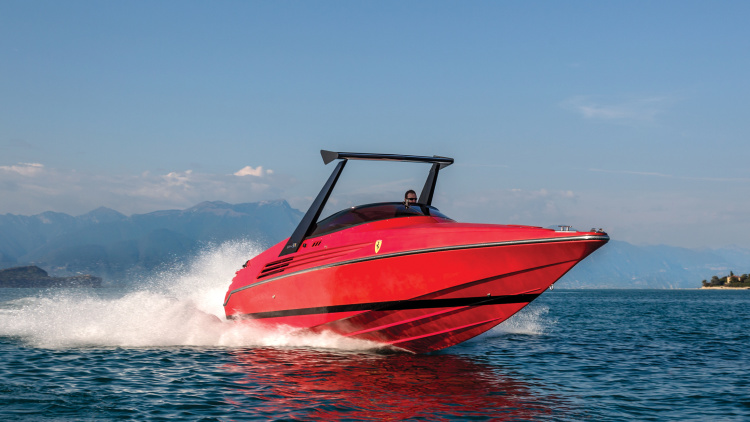 1990 Riva 32 Speedboat Is A 780 Hp Seagoing Ferrari