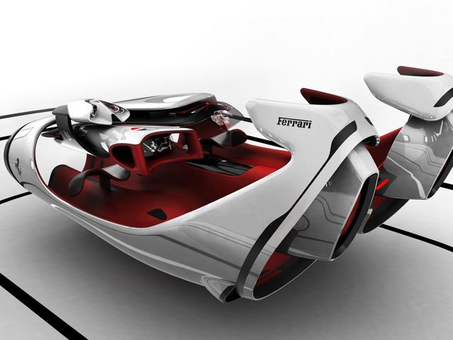 3 Futuristic Designs Receive Ferrari's Seal of Approval