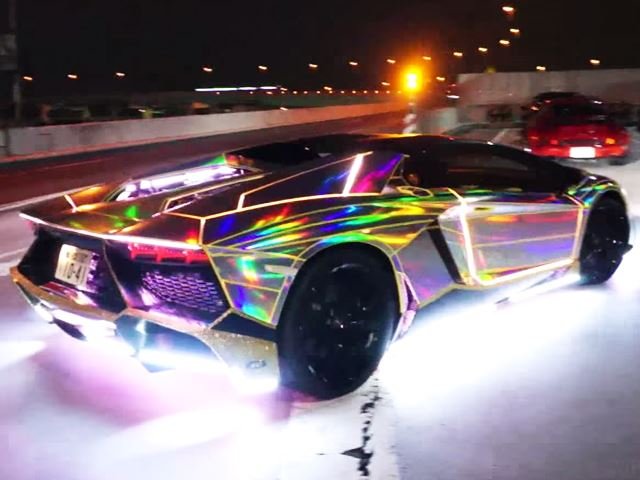 This Is the Flashiest Flame-Shooting Lamborghini You'll Ever See