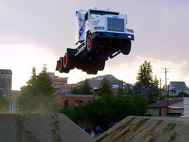 How To Do a Massive Record Breaking Jump in a Big Rig