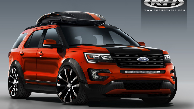 Ford Explorer Goes Sporty and Spicy for SEMA