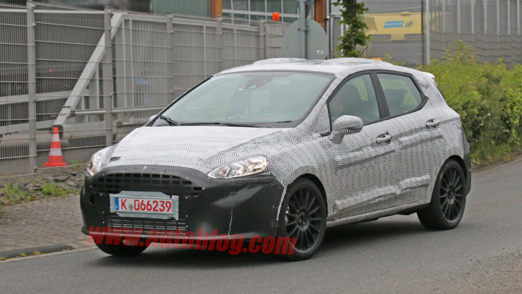 2018 Ford Fiesta ST Spotted Looking Sporty