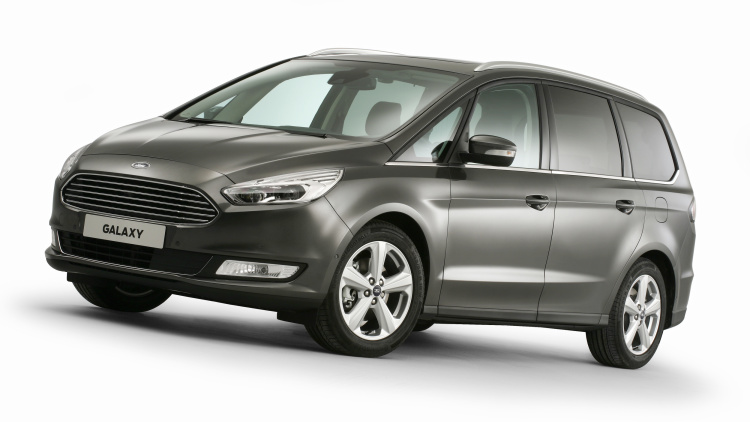 Ford Reveals New Galaxy Van for Europe