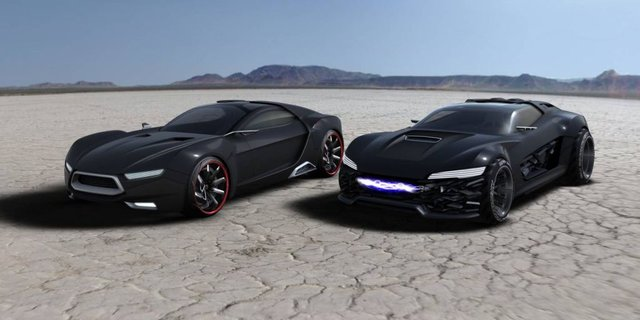 Ford displays two Mad Max Interceptor Concepts in Australia
