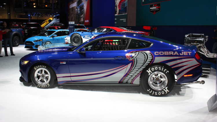 Ford Cobra Jet Mustang Blasts Into Sema