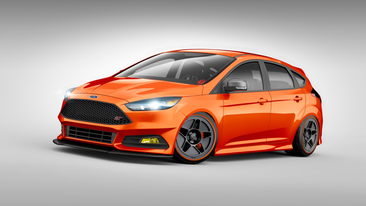 Ford Reveals Hot Hatch Lineup for SEMA