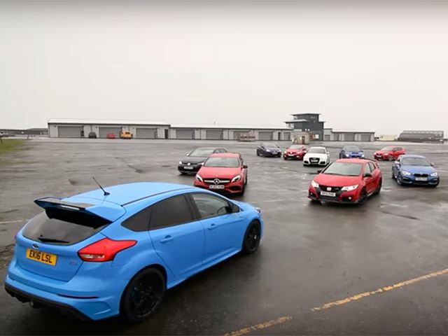 Can The Ford Focus RS Take Down Every Single Rival In This Mega Test?