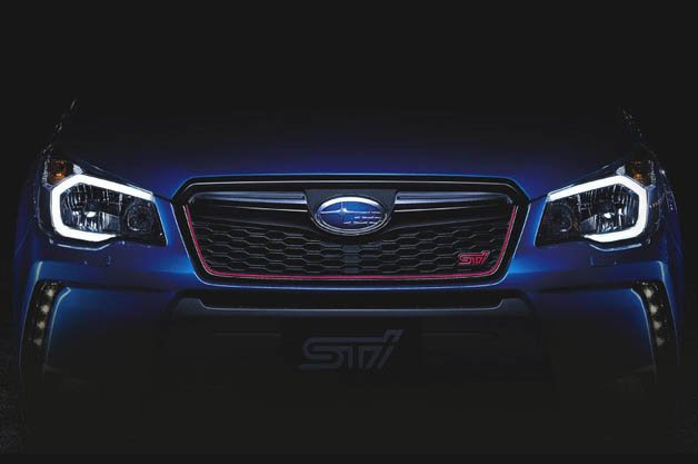 Subaru Provides First Glimpse at Upcoming Forester STI