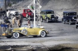 'Great Gatsby' A Scavenger Hunt for Car Spotters
