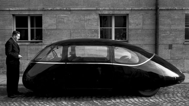 Meet Germany's Ultra-Aerodynamic Car from 1939