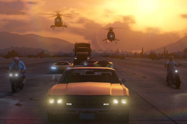 GTA Online Gameplay Vid Shows All Sorts of Vehicles