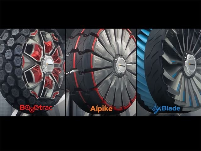 Hankook Creates Sci-Fi Tires That Transform and Adapt to Any Terrain