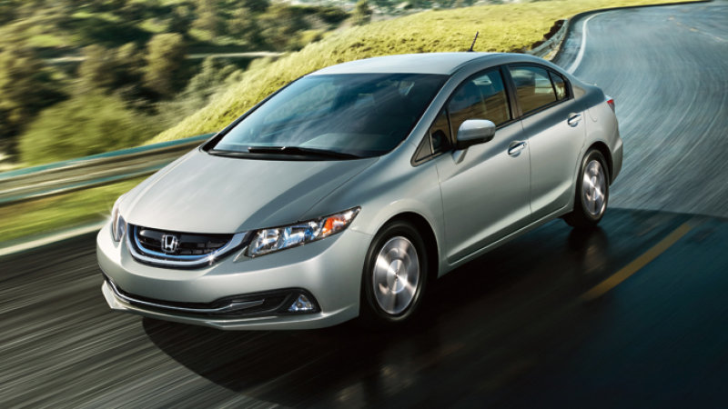 Honda to Ax Civic Hybrid, CNG Models