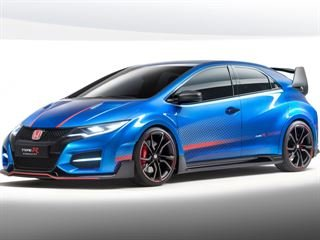 Honda Unveils Updated Civic Type R Concept II