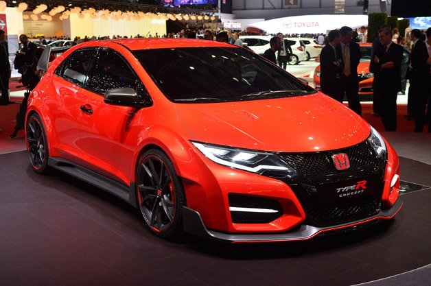 Honda Speeds Towards Its Dreams With New Civic Type R Concept