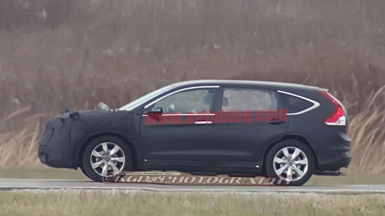 Honda CR-V spy shots