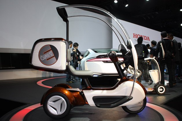 Honda E-Canopy Is Mobility Minded Trike