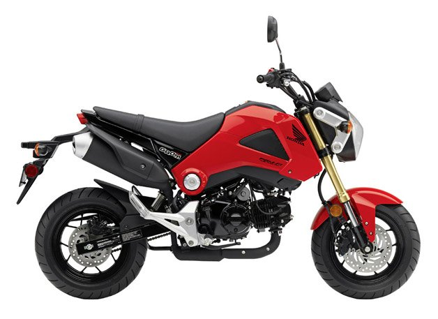 2014 Honda Grom Motorcycle is a 125cc-Shot of Awesome