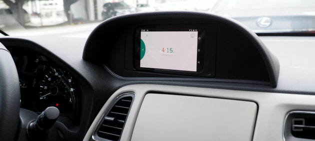 Honda Nav Concept Replaces Head Unit With Android Phone