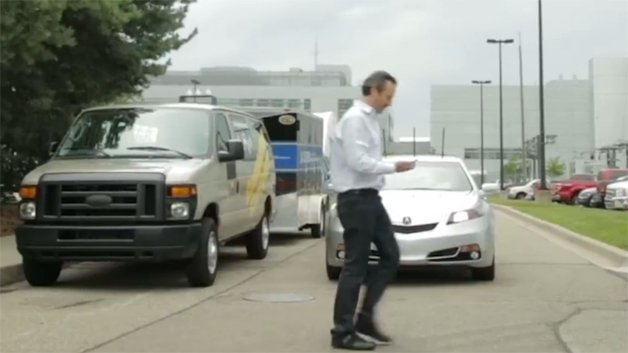 Honda Demonstrates New Vehicle-To-Pedestrian Safety Tech