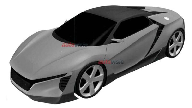 Honda Working on Mid-Engine Sports Car?