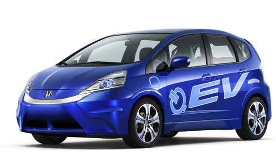 Honda Fit EV Concept Electric Vehicle and Plug-in Hybrid Platform debuts at Los Angeles Auto Show