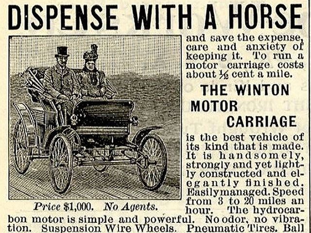 Carmakers Hilariously Waged War Against Horses 100 Years Ago