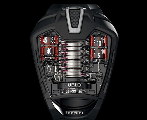 Amazing LaFerrari Tribute Watch More Intricate Than the Real Thing