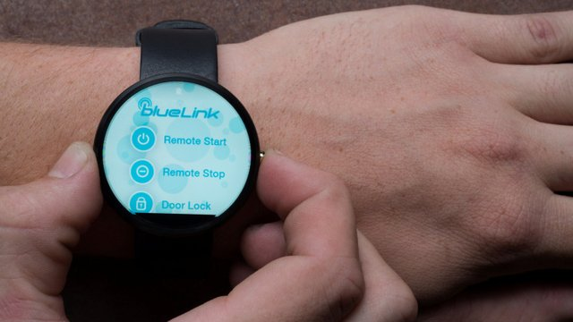 Hyundai Blue Link Android Smartwatch