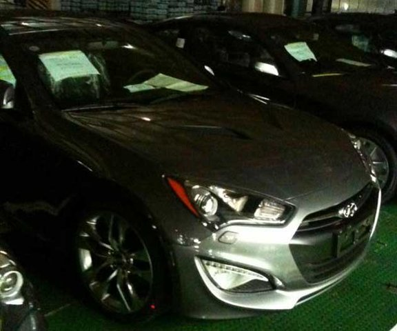 Are you the facelifted 2013 Hyundai Genesis Coupe?