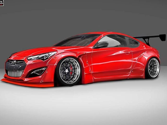 1,000-HP Hyundai Genesis Coupe Concept