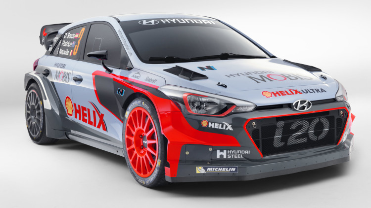 Hyundai Pulls Wraps Off New i20 WRC Rally Car
