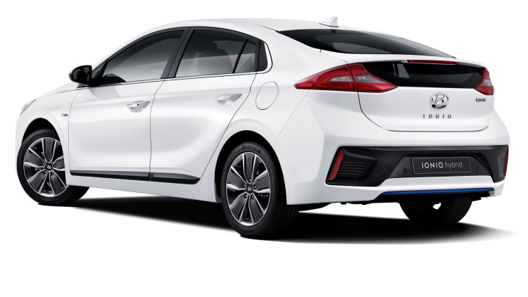 Hyundai Releases More Ioniq Images, Hybrid Powertrain Details